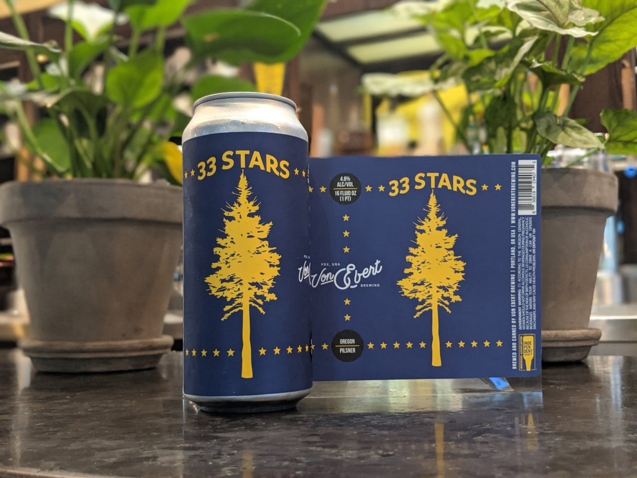image of 33 Stars courtesy of Von Ebert Brewing