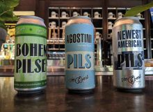 image of Bohemian Pilsener, Agostini Pils and Newest American Pils courtesy of Von Ebert Brewing
