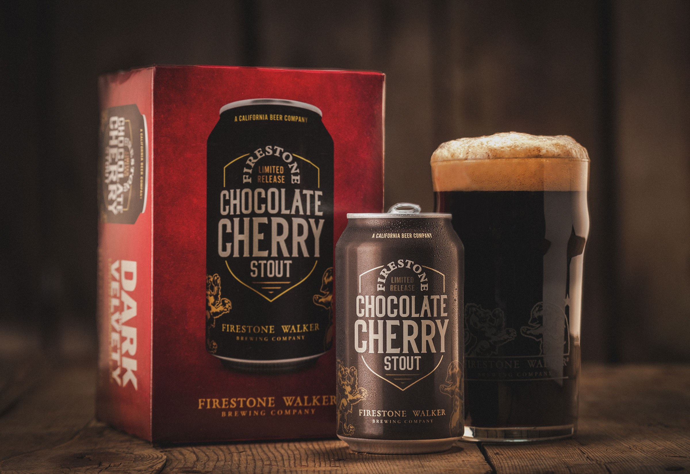 image of Chocolate Cherry Stout courtesy of Firestone Walker Brewing