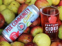 image of PDX Community Cider courtesy of Portland Cider Co.