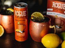 image of Rogue Spirits Ginger Lemon Whiskey Mule courtesy of Rogue Spirits