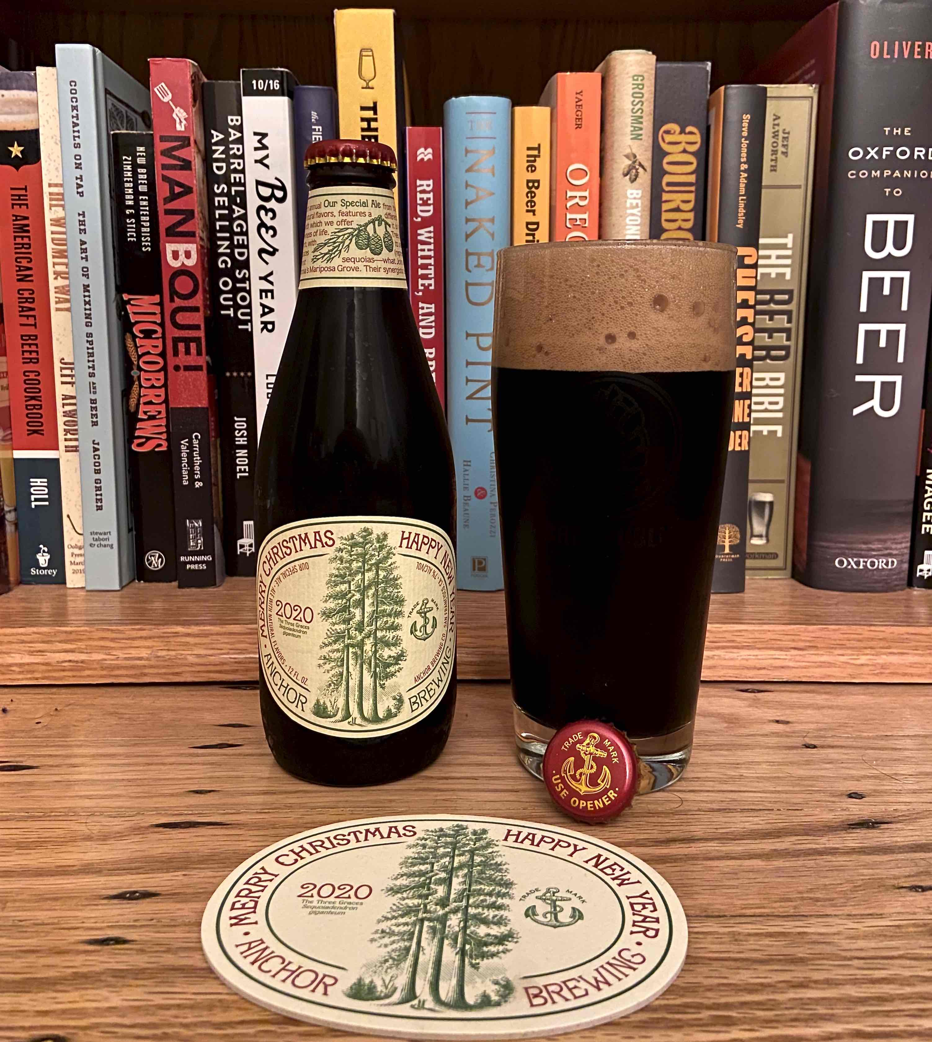 Anchor Steam Christmas Ale 2021 Anchor Brewing Continues With A 46 Year Tradition With Its 2020 Anchor Christmas Ale