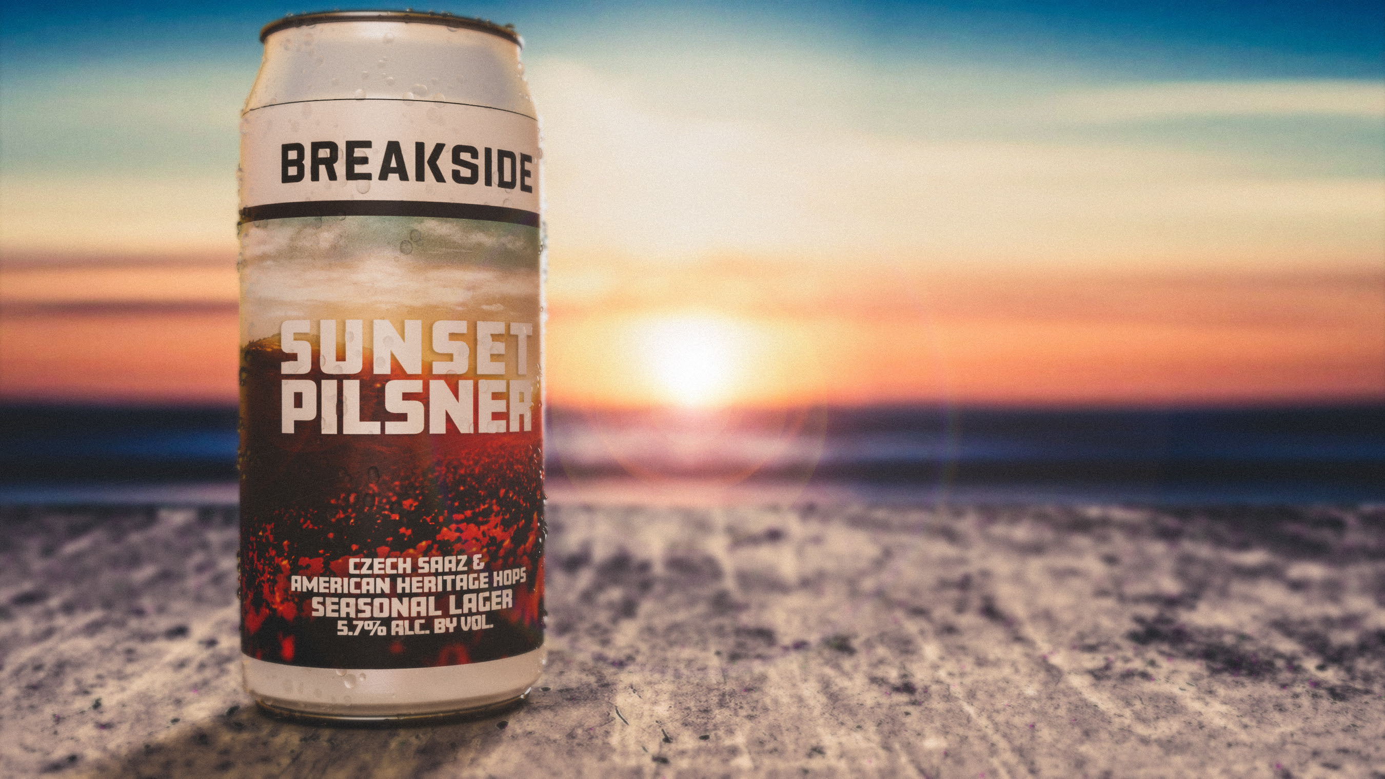 Breakside Brewery Sunset Pilsner