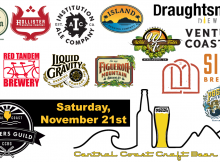 California Central Coast Craft Virtual Beer Fest - November 21, 2020