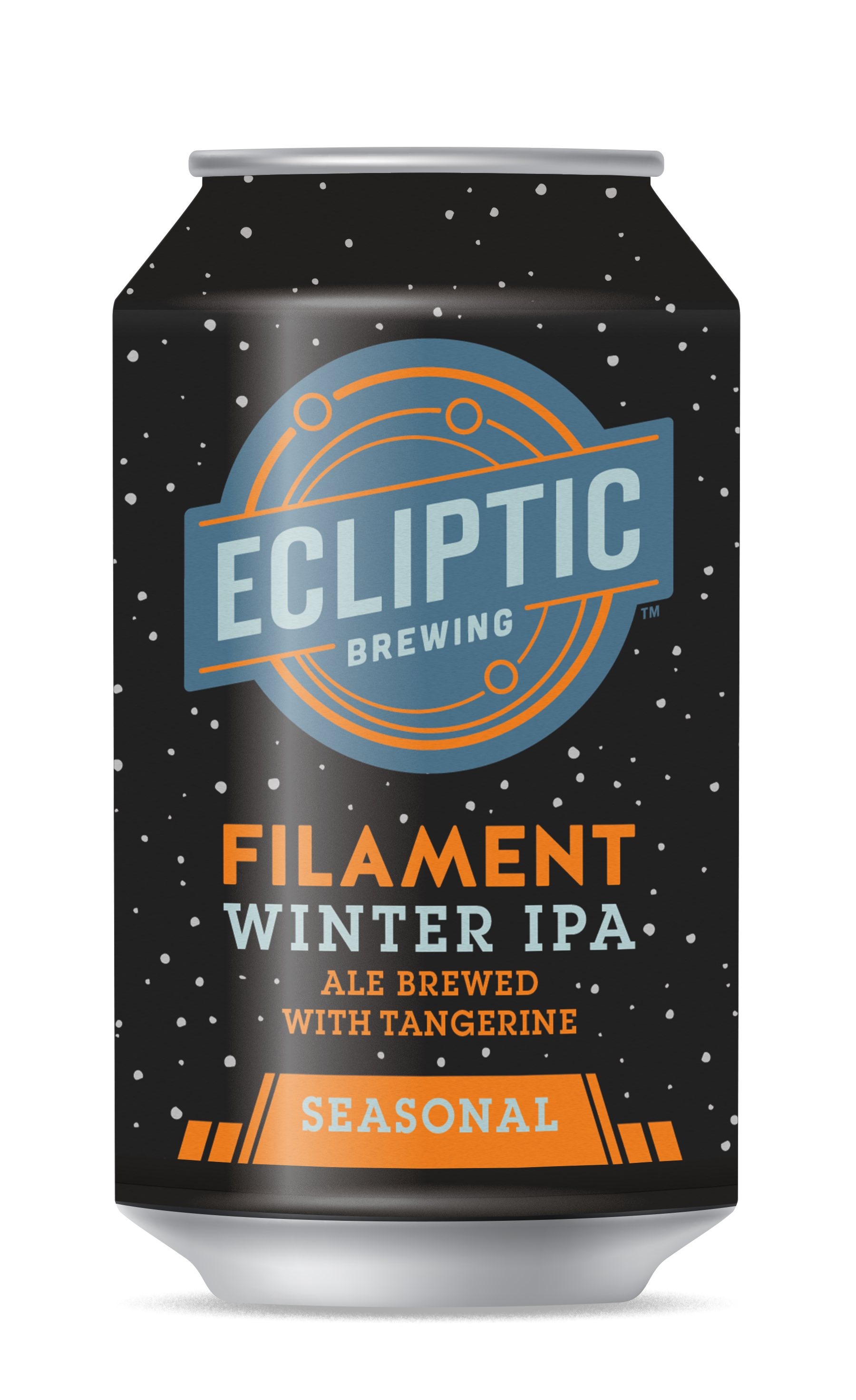 Ecliptic Brewing Filament Winter IPA - Ale Brewed with Tangerine