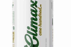 Eel River Brewing Climax 100 – Premium 100% Organic Light Ale