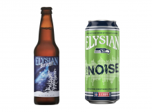 Elysian Brewing's Bifrost Winter Ale and The Noise Pale Ale