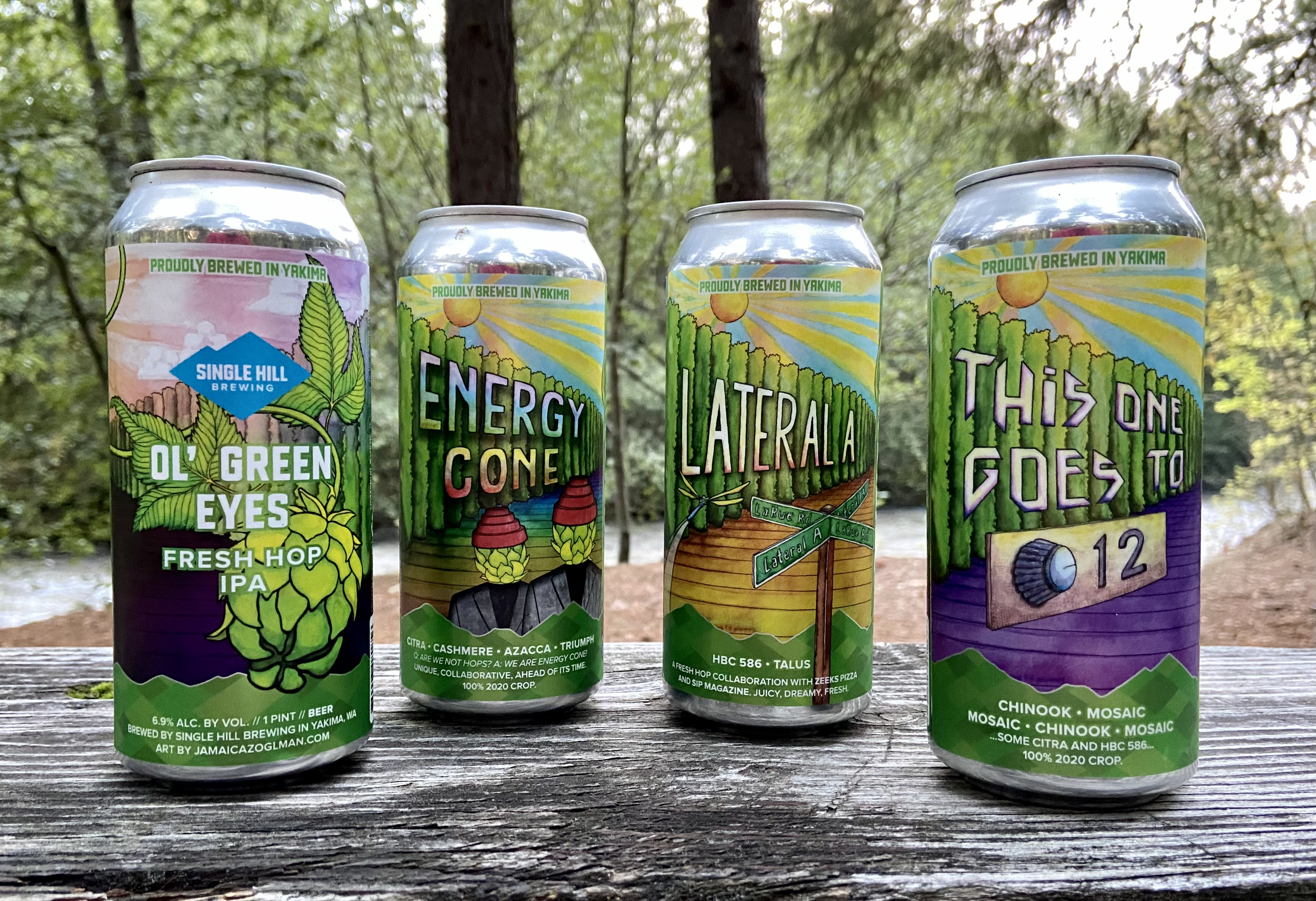 The fresh hop beers released by Single Hill Brewing this past harvest were all exceptional examples of the style.