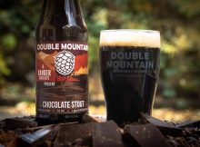 image of Chocolate Stout, a collaboration with Ranger Chocolate courtesy of Double Mountain Brewery