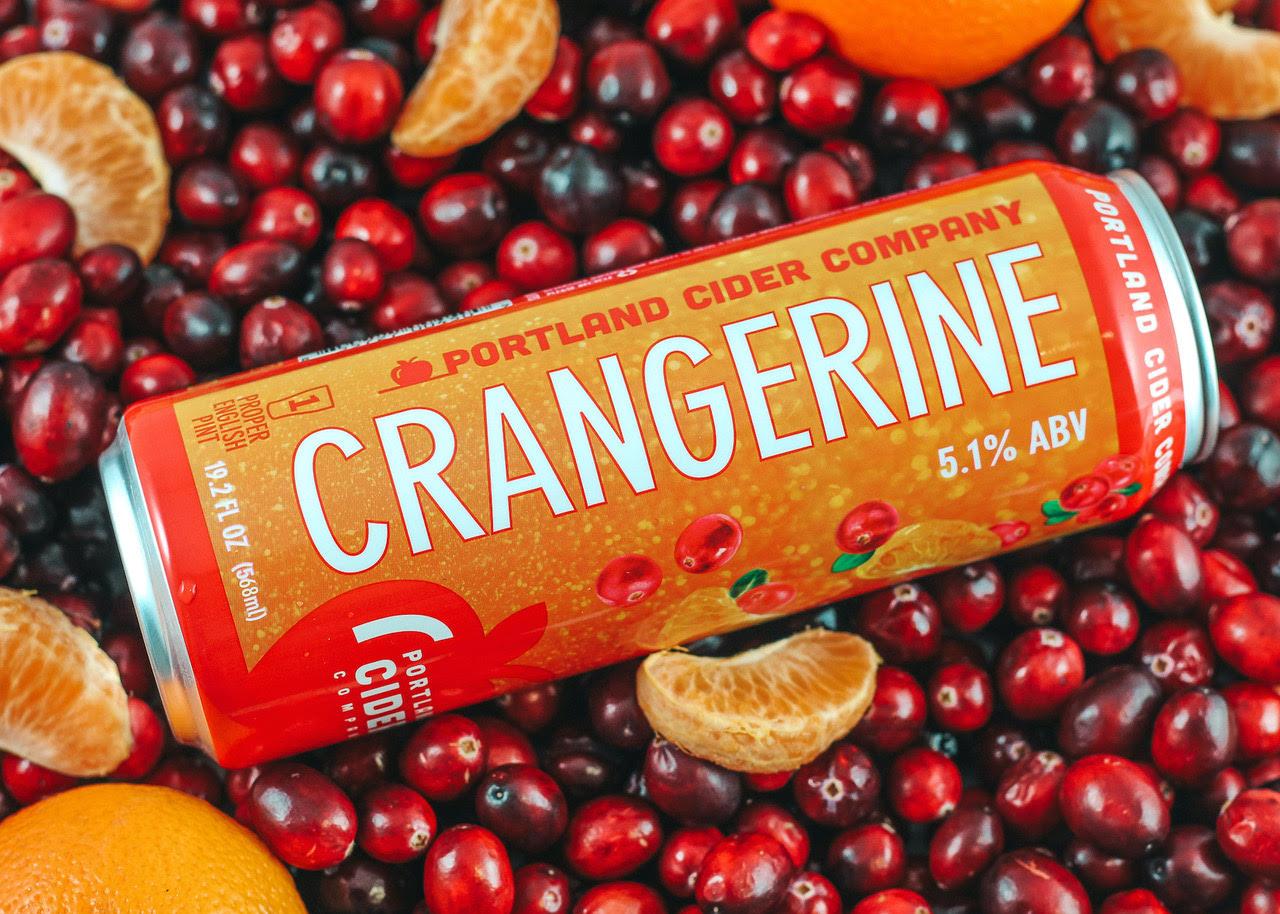 image of Crangerine courtesy of Portland Cider Co.