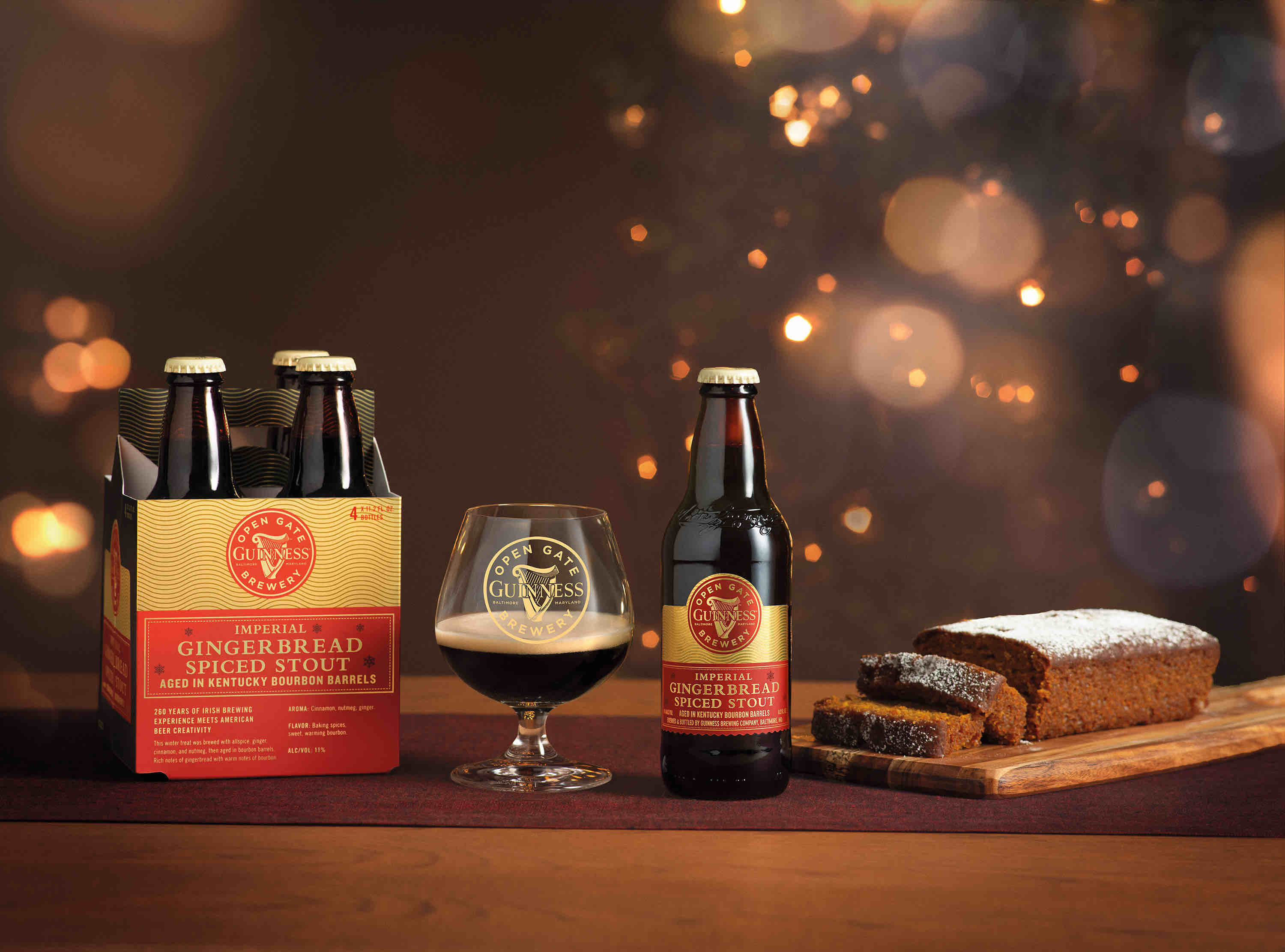 image of Guinness Imperial Gingerbread Spiced Stout courtesy of Guinness