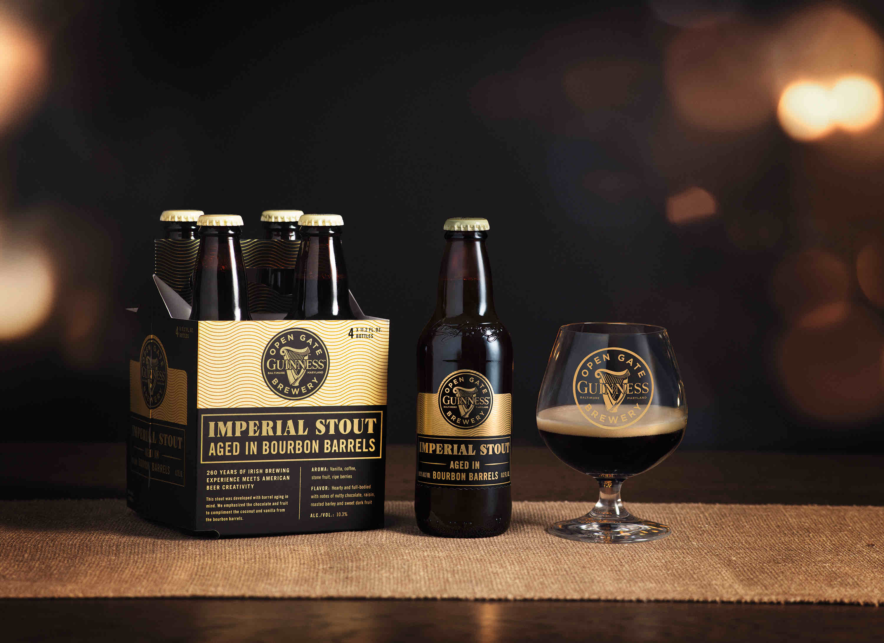 image of Guinness Imperial Stout courtesy of Guinness