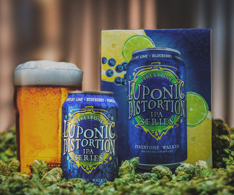 image of Luponic Distortion No. 17 courtesy of Firestone Walker Brewing