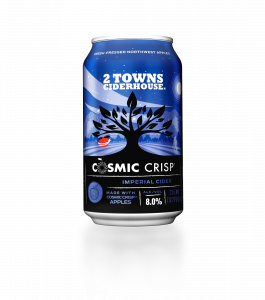2 Towns Ciderhouse Cosmic Crisp Can