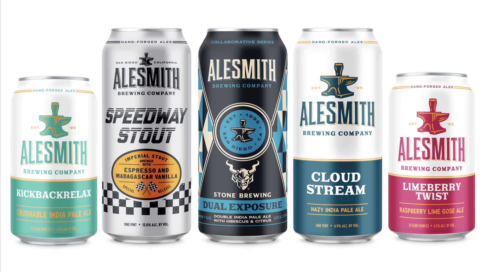 AleSmith Brewing Kicks Off the Year 2021 with Five New Beers