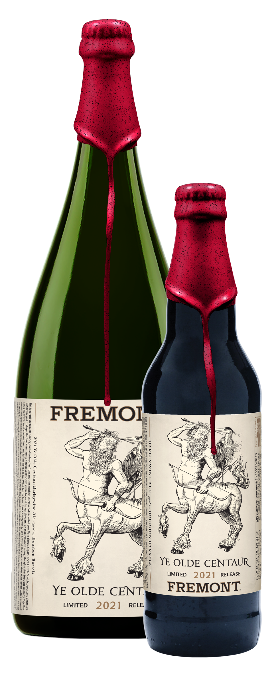 Fremont Brewing Pays Tribute to Matt Bonney with the release of Ye Old Centaur Barley Wine