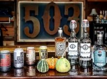 Part of the 503 Distilling lineup of canned cocktails and spirits. (image courtesy of 503 Distilling)