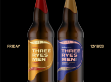 Reuben's Brews Three Ryes Men – Cinnamon and Three Ryes Men – Brandy Barrel