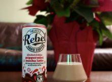 The limited-release REBEL Hard Coffee Peppermint Mocha Hard Latte.