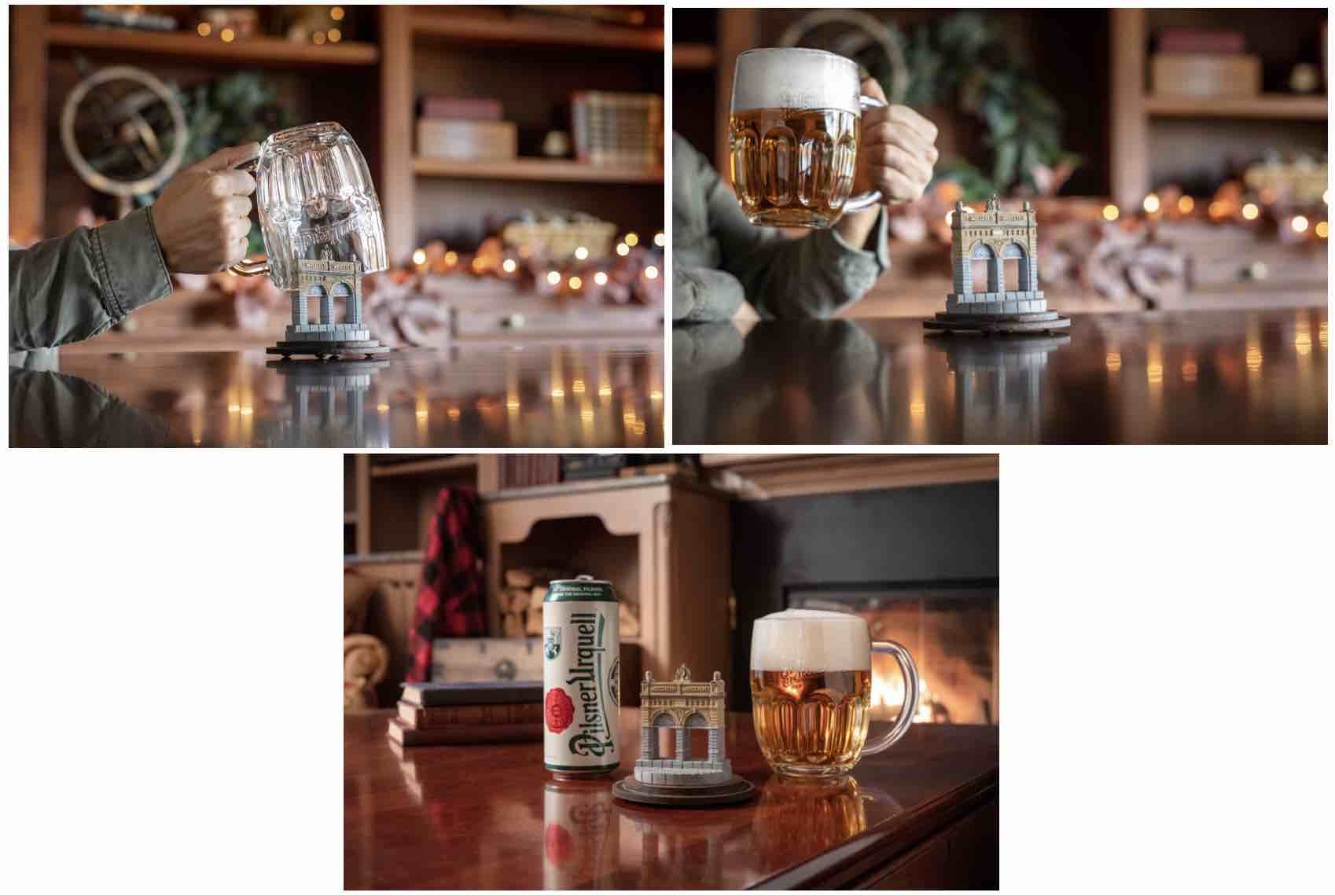 image of Pilsner Urquell Mugloo courtesy of Pilsner Urquell
