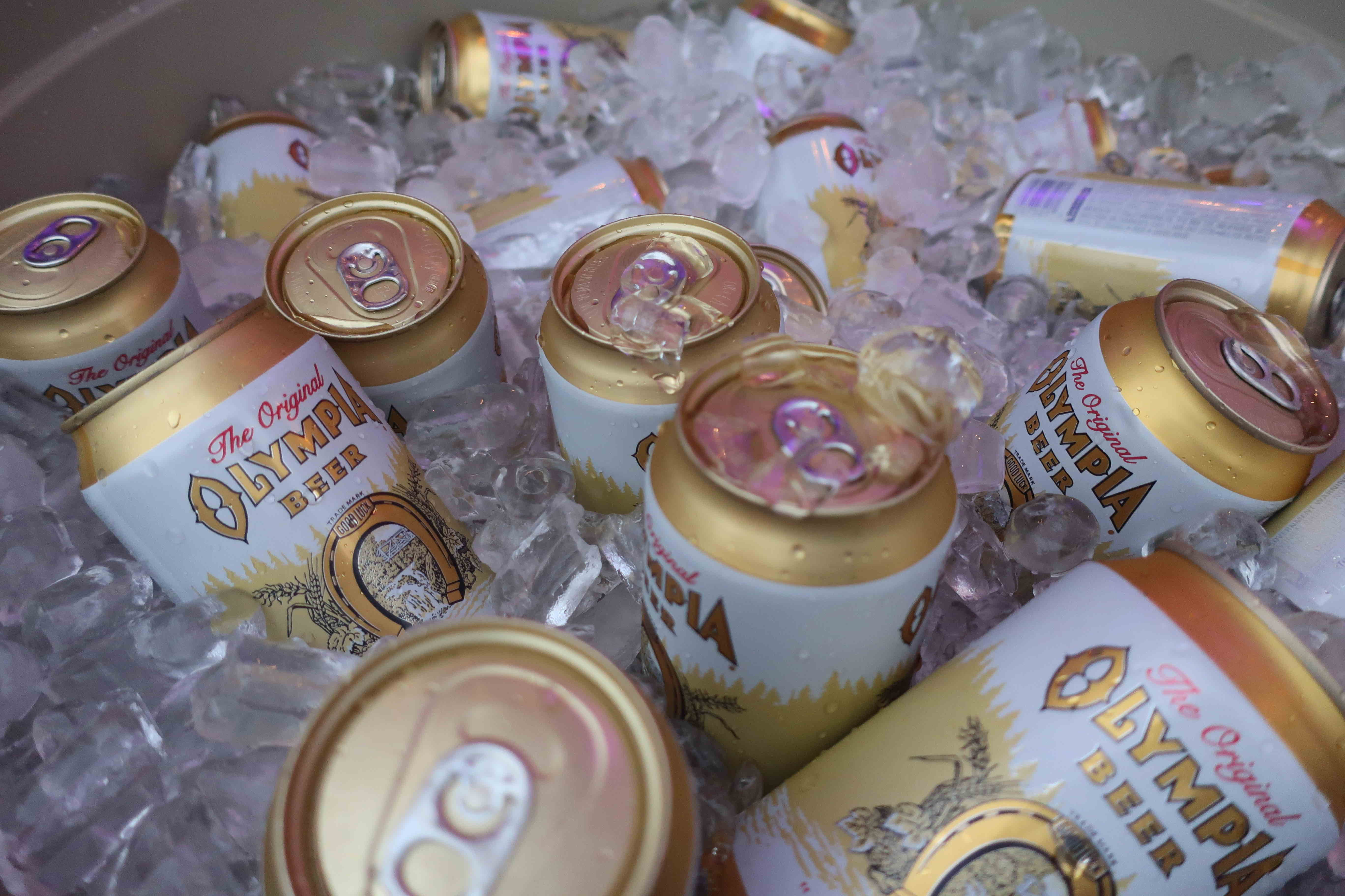 Cans of ice cold Olympia Beer will be a thing of the past as Pabst Brewing Co. discontinues production of the beer
