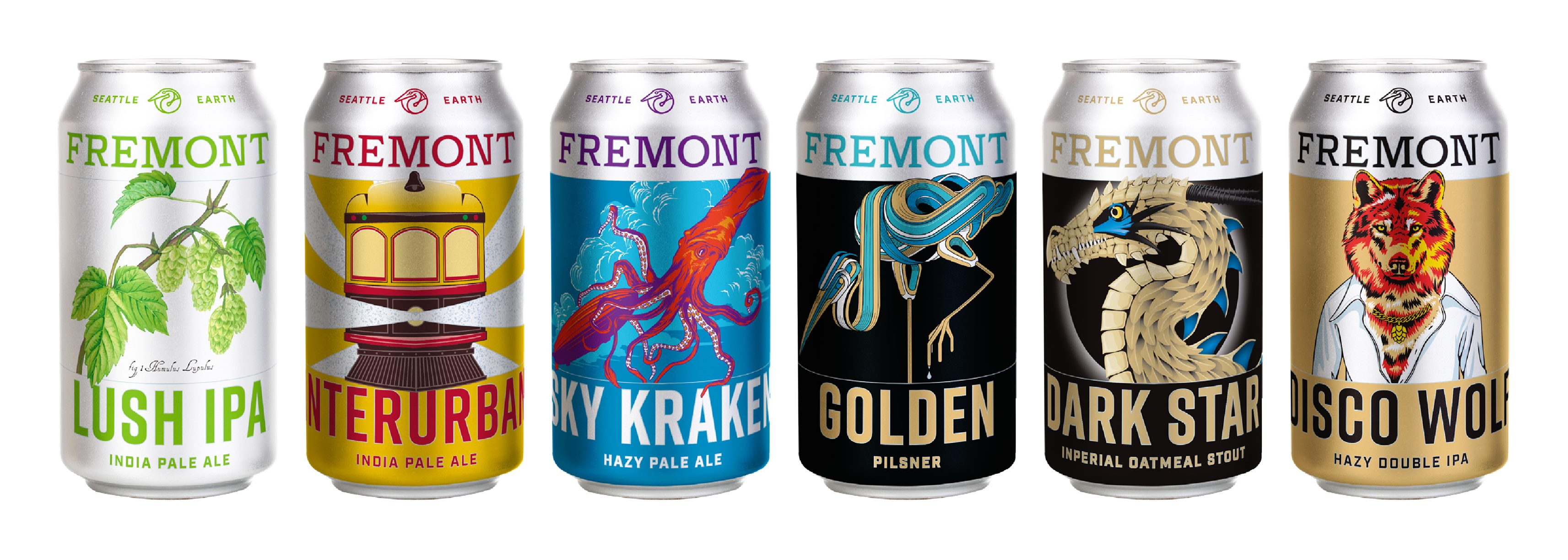 Fremont Brewing Lineup 2021