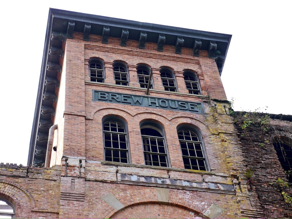 The original Olympia brewery in Tumwater, Washington. (photo by Cat Stelzer)
