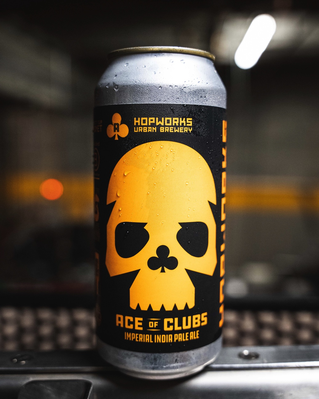 image of Ace of Clubs Imperial India Pale Ale courtesy of Hopworks Urban Brewery
