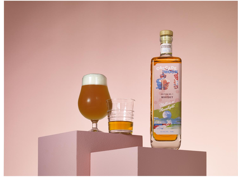 image of Cascade Moon Edition No. 1 Whisky courtesy of Cascade Hollow Distilling