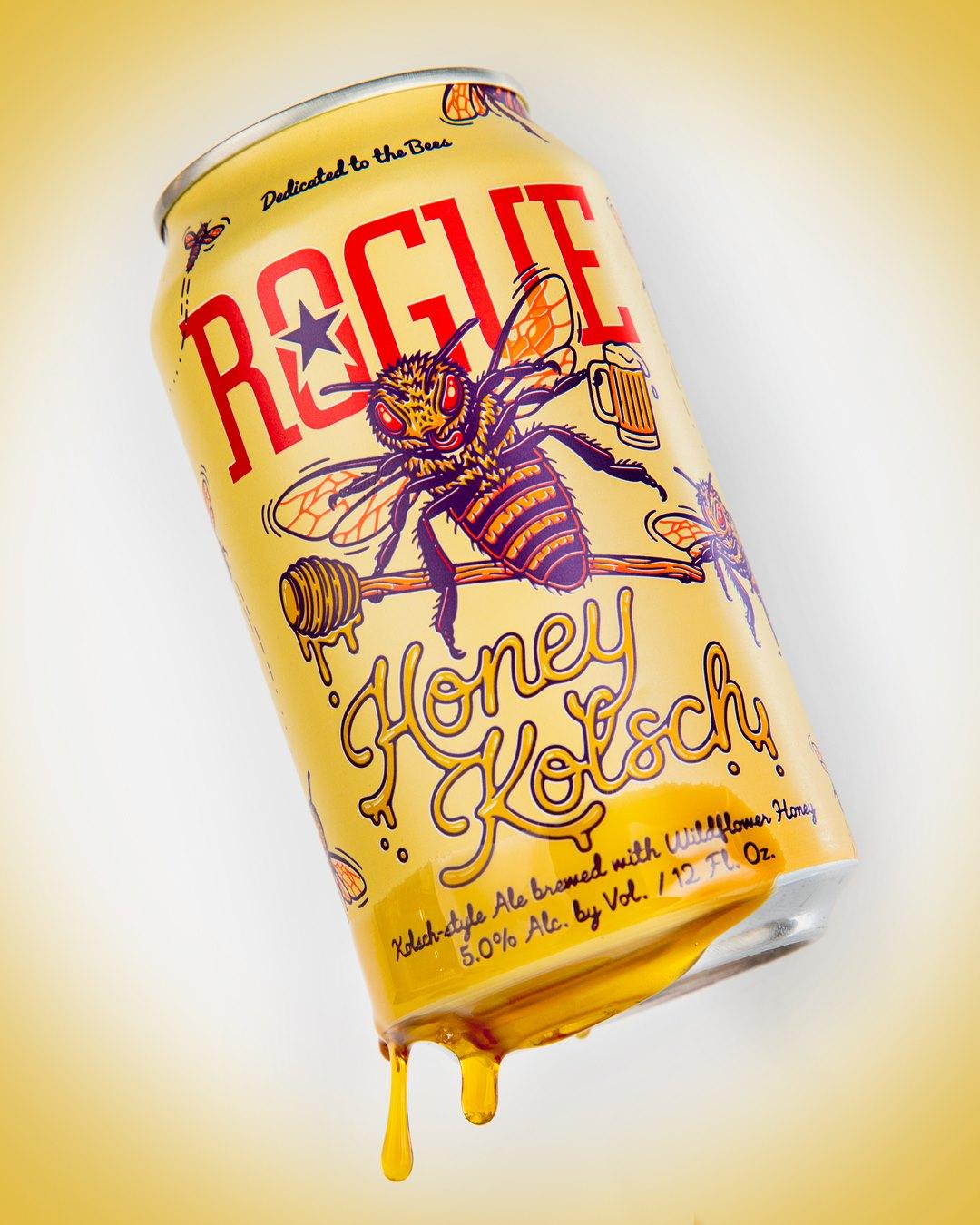 image of Honey Kolsch courtesy of Rogue Ales & Spirits