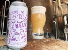 image of NELS, the first beer in the new Sketchbook Series courtesy of Wolves & People Brewery