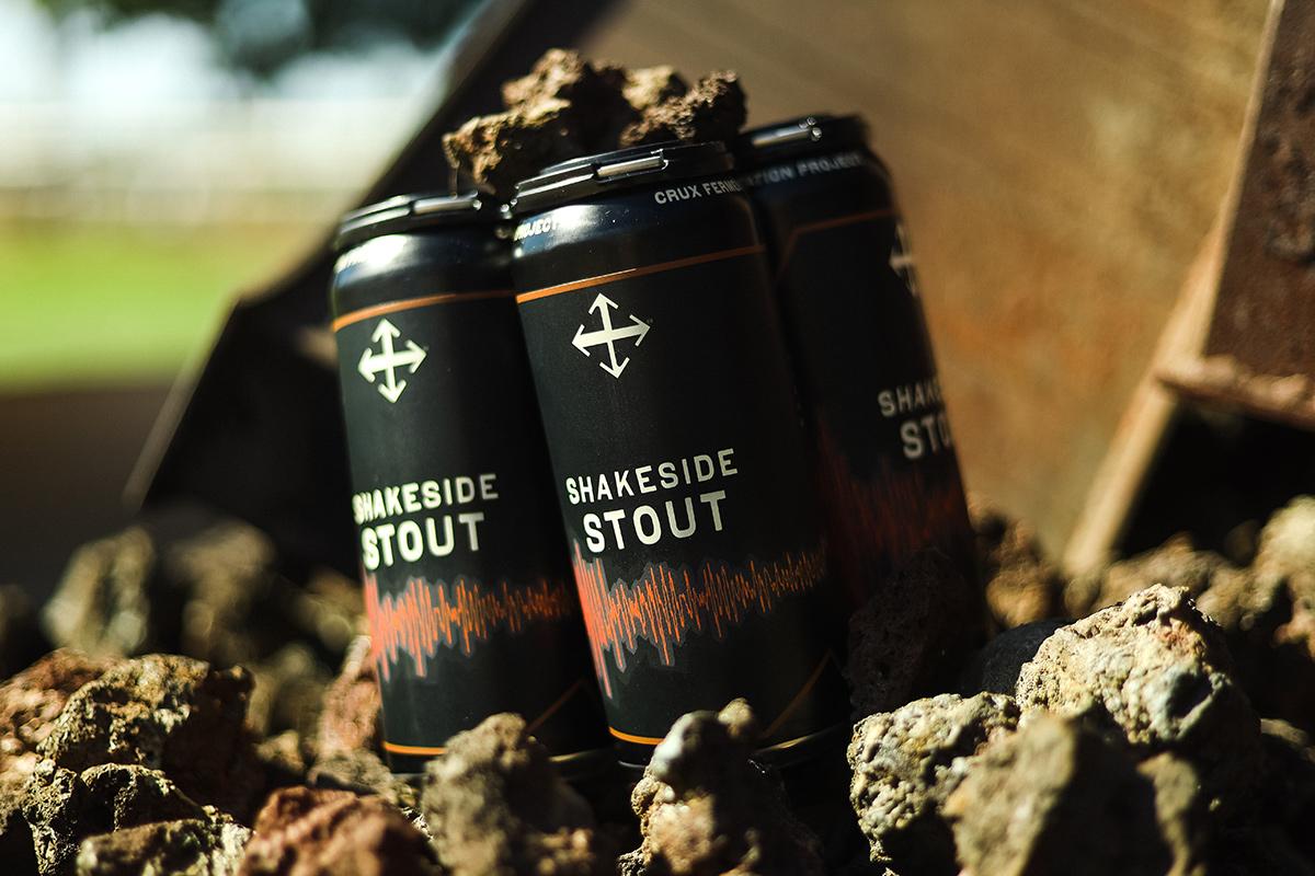 image of Shakeside Stout courtesy of Crux Fermentation Project
