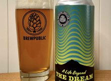 A Life Beyond The Dream Triple IPA is an impessively smooth Triple IPA that sits at 10.5% ABV.