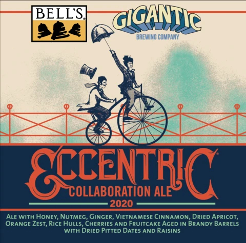 Bell's Brewery + Gigantic Brewing Bell's Eccentric Collaboration Ale 2020