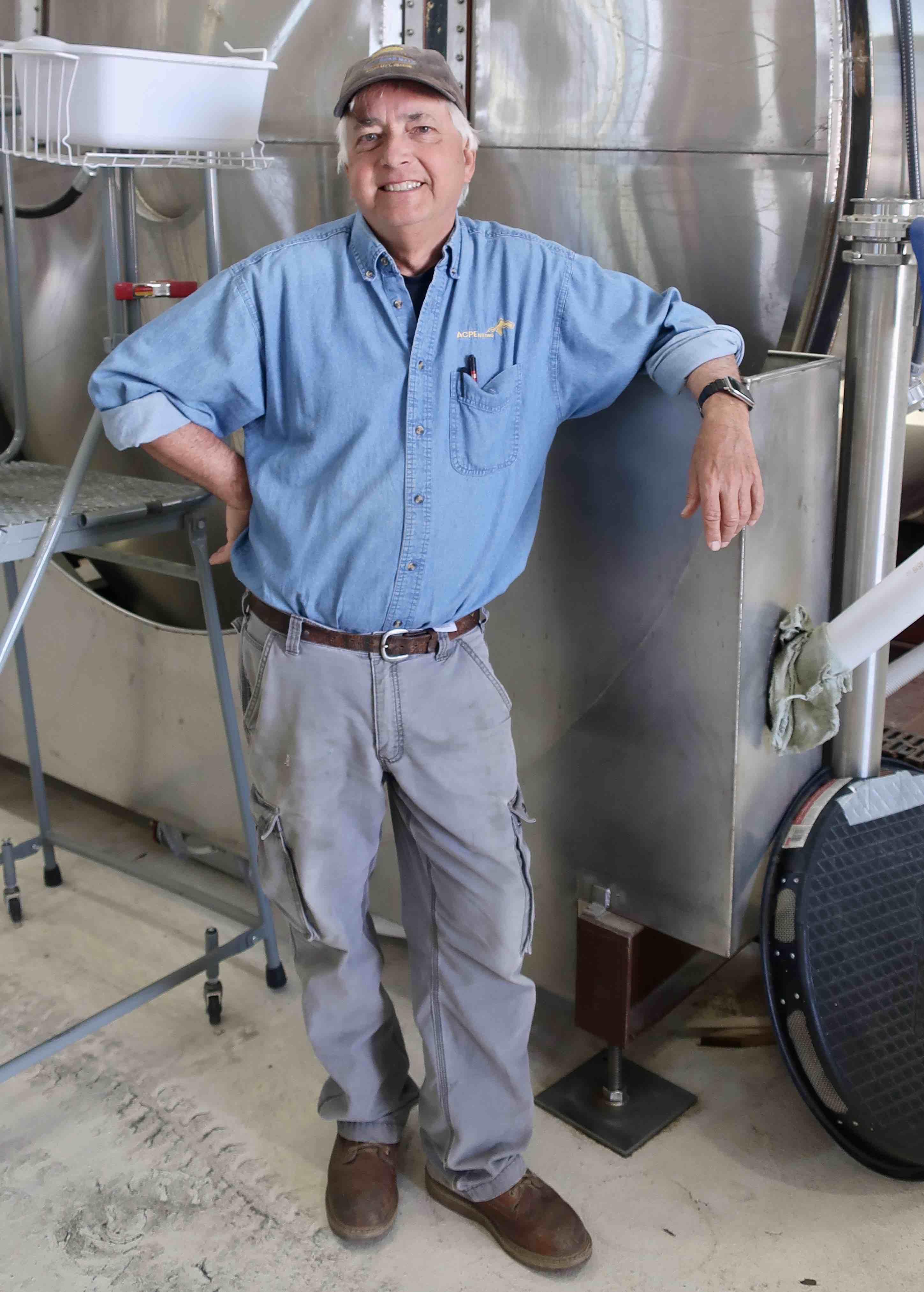 Tom Hutchison of Gold Rush Malt in Baker City, Oregon.