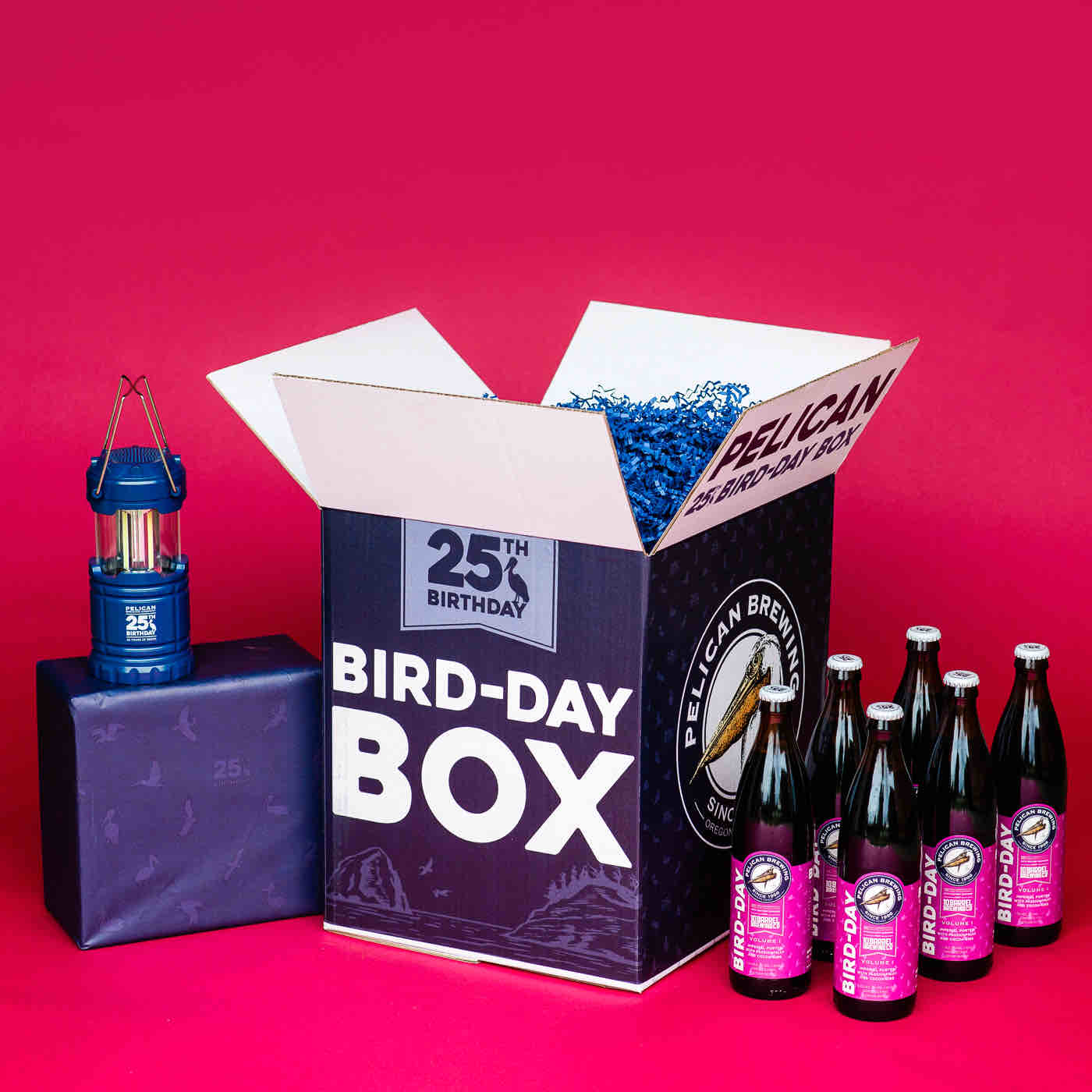 image of Bird-Day Box courtesy of Pelican Brewing