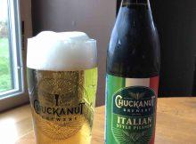 image of Chuckanut Italian Pilsner courtesy of Chuckanut Brewery