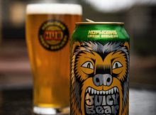 image of Juicy Bear IPA courtesy of Hopworks Urban Brewery