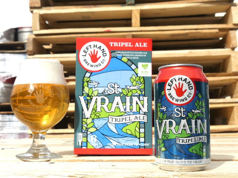 image of St. Vrain Tripel Ale courtesy of Left Hand Brewing Co.