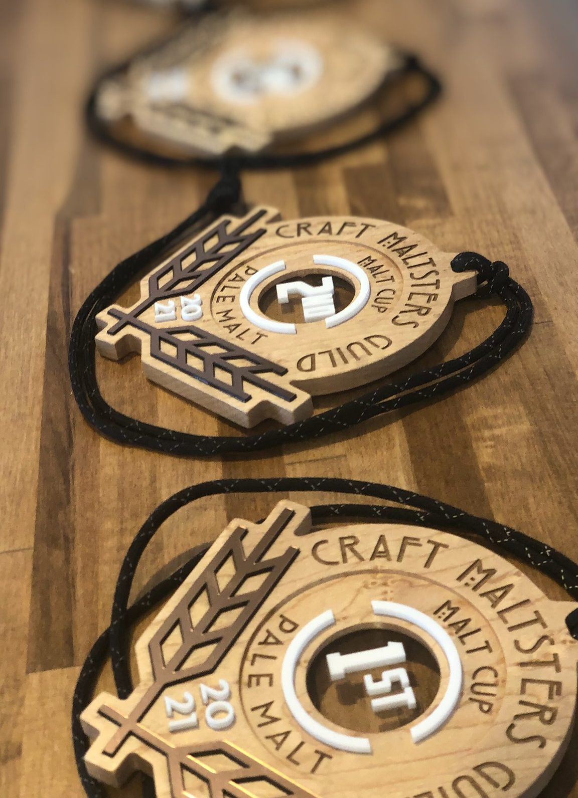 image of the 2021 Malt Cup Awards courtesy of the Craft Maltsters Guild