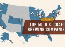 Brewers Association 2020 Top 50 U.S. Craft Brewing Companies