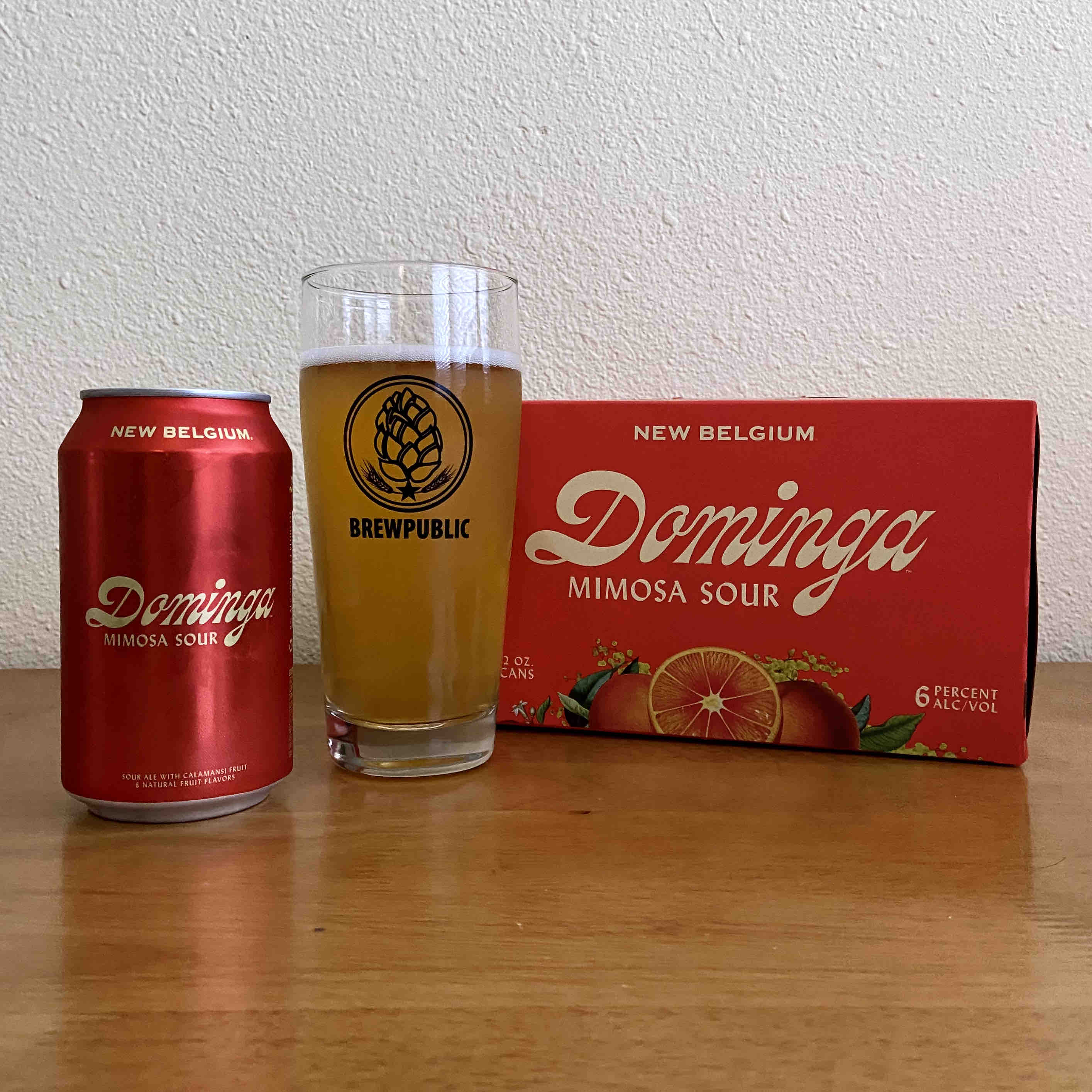 Dominga is a new citrus sour ale from New Belgium Brewing.