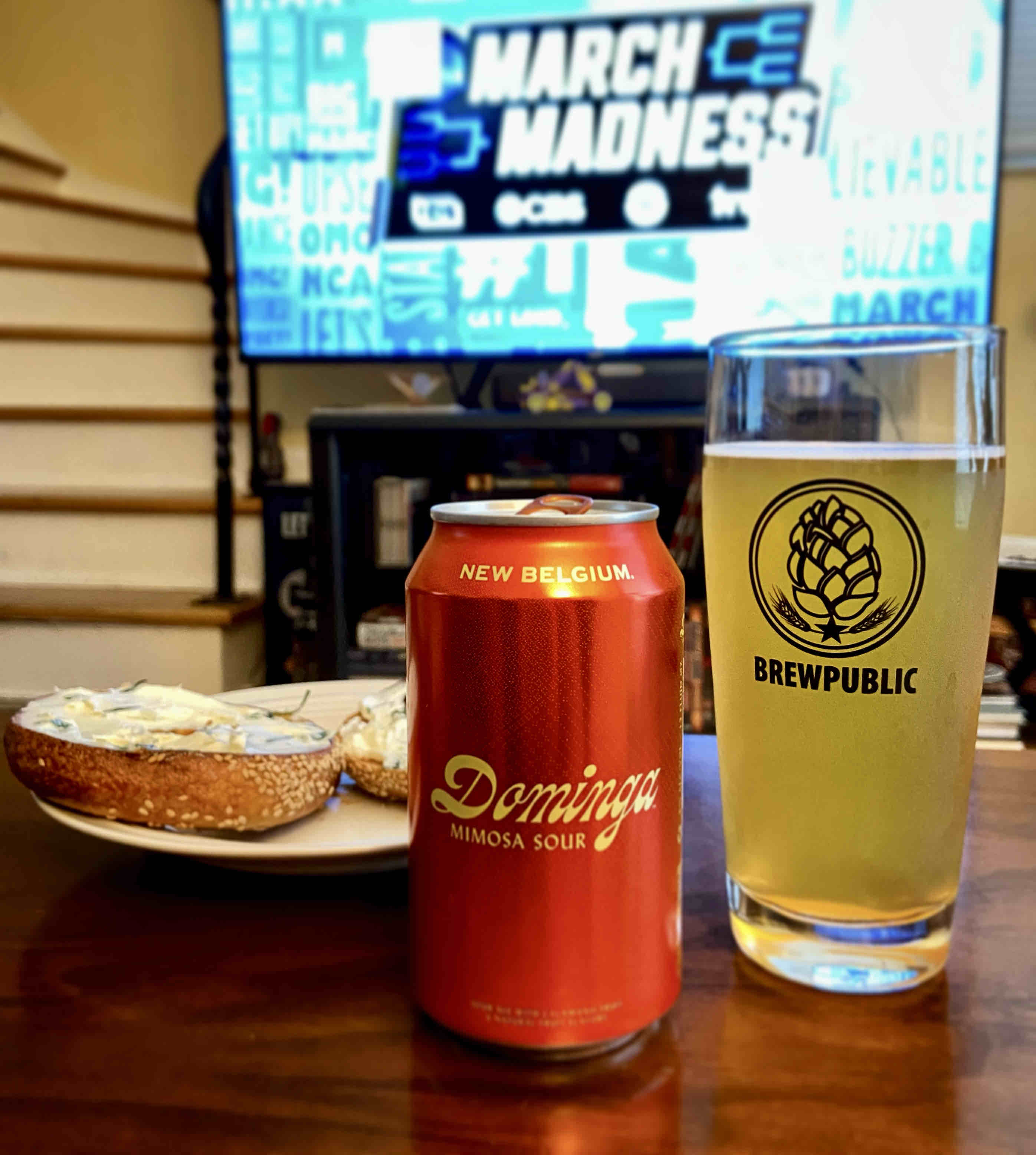Dominga, the new citrus sour ale from New Belgium Brewing is a perfect companion to brunch.