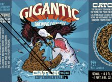 Gigantic Brewing Catch 23 IPA 2021 Label