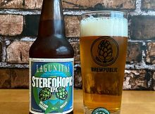 Lagunitas Brewing new StereoHopic IPA Vol. 1