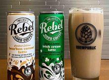 REBEL Hard Coffee Introduces Hard Bourbon Caramel Latte and Hard Irish Cream Latte.