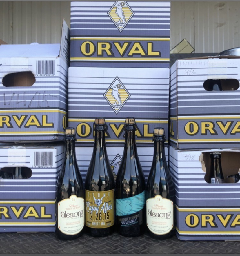 The BeerMongers take Orval Day very serious as this favorite haunt of ours had a day for Oravl appreciation that pre-dates the Merchant du Vin event.
