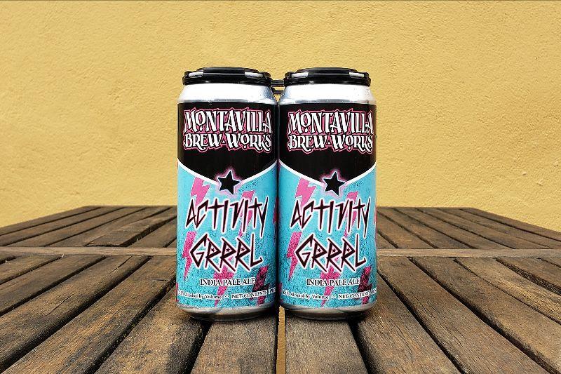 image of Activity Grrrl IPA courtesy of Montavilla Brew Works