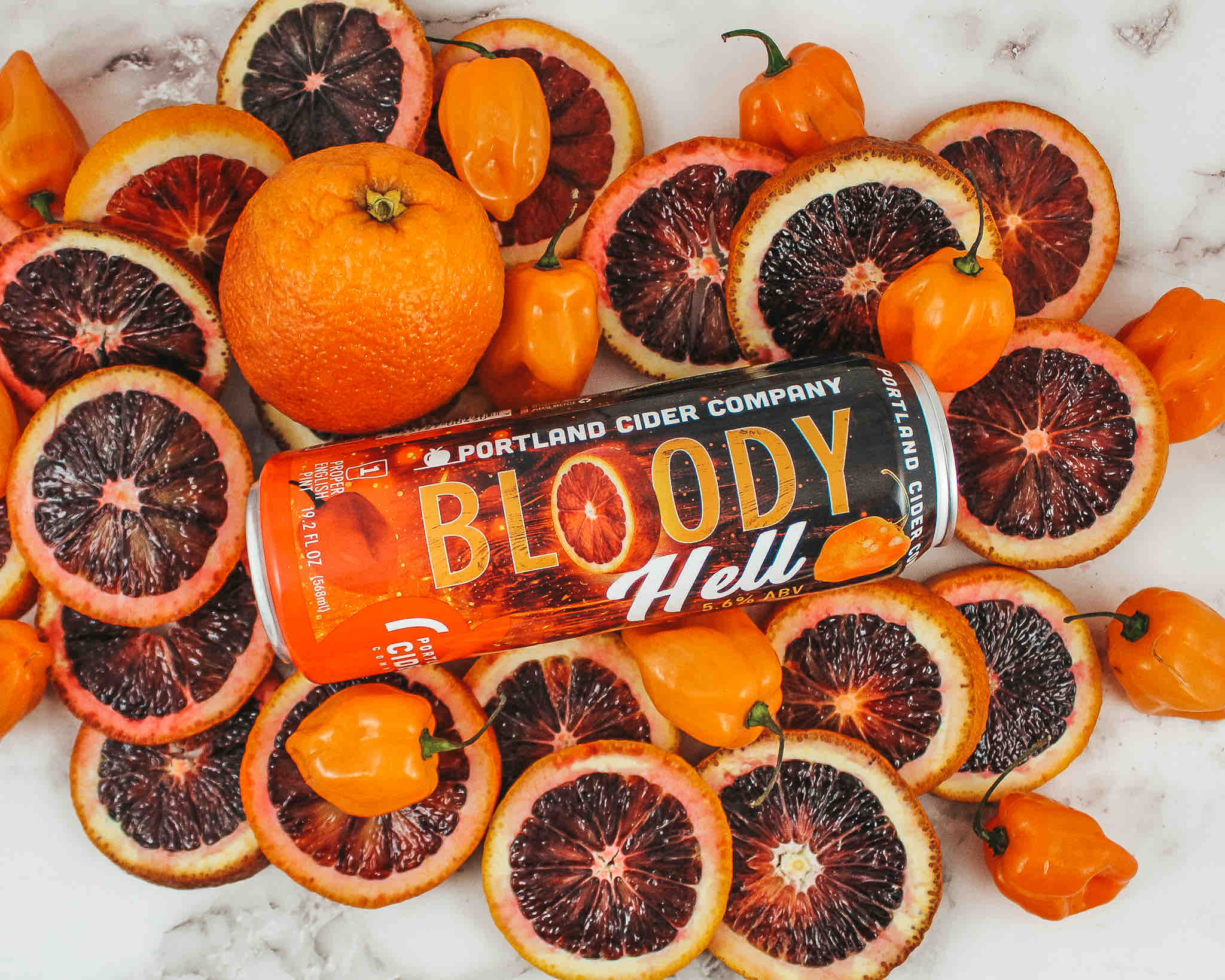 image of Bloody Hell courtesy of Portland Cider Co.
