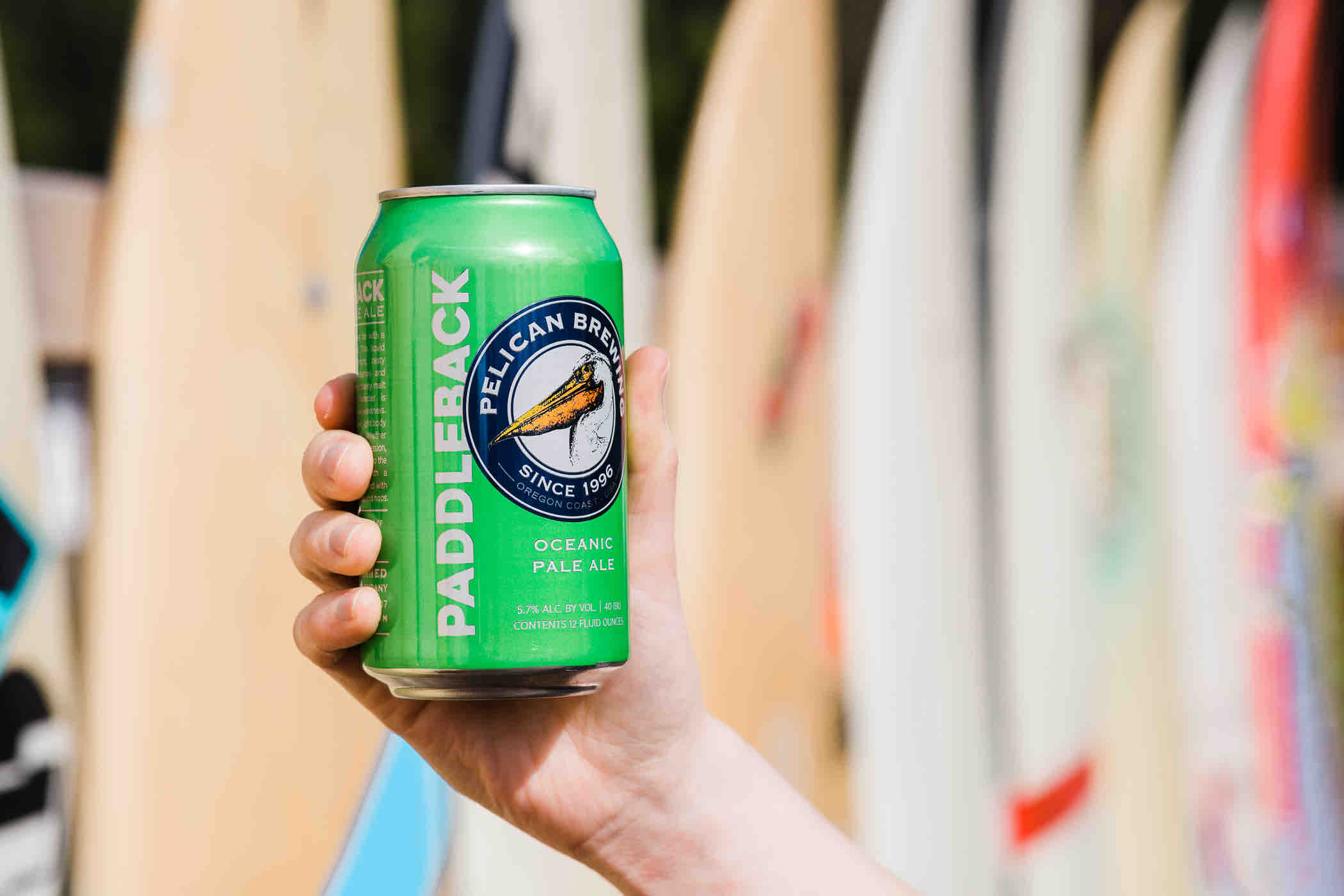 image of Paddleback Oceanic Pale Ale courtesy of Pelican Brewing Co.